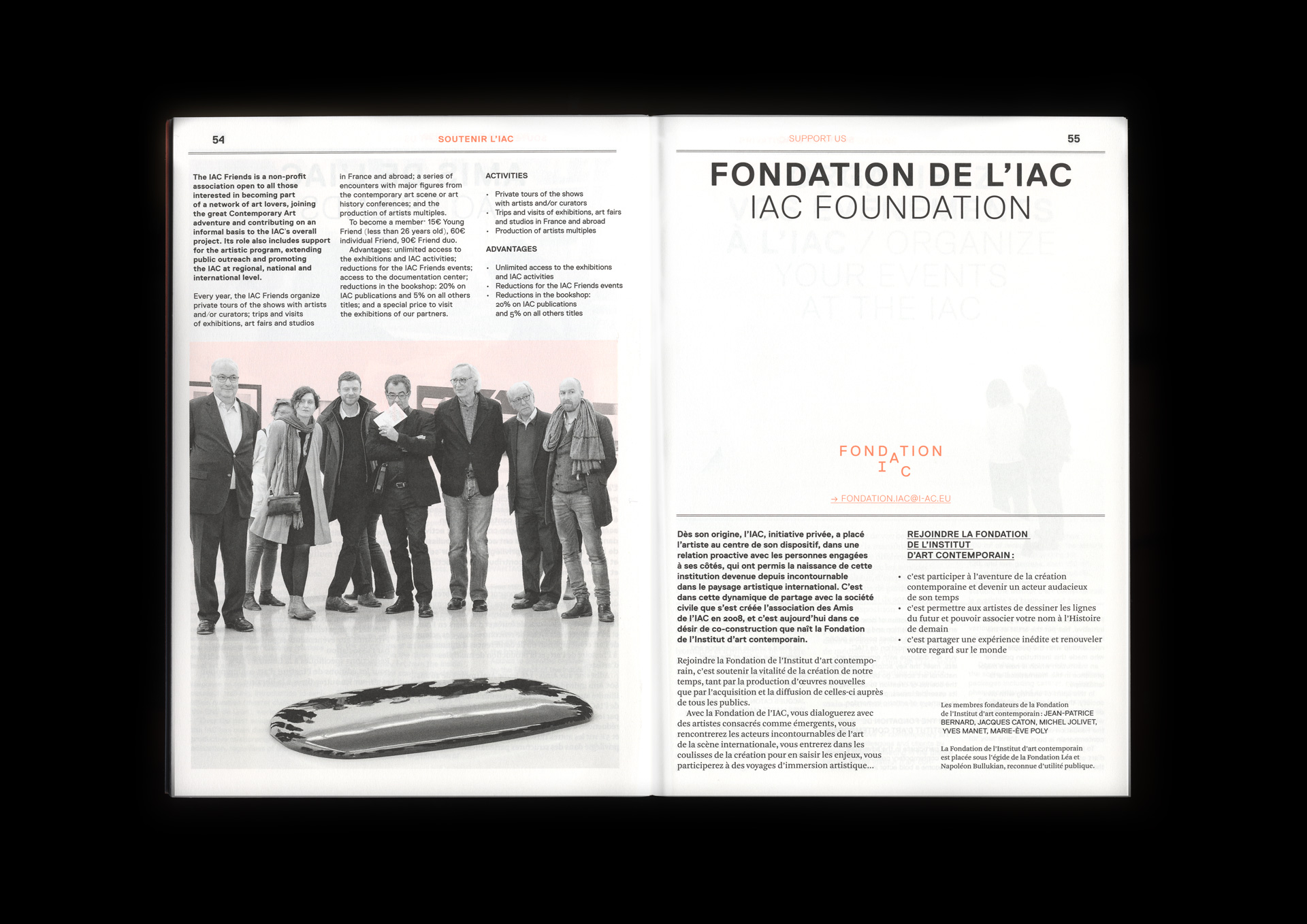 La Direction IAC programme 2017
